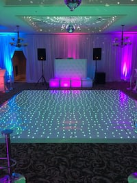 """Pair Rockville RPG15 15"""" 2000w Powered PA/DJ Speakers + 2 Stands + 2 Cables+Bag"""
