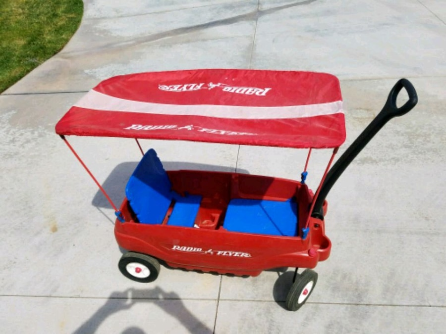 & Used Wagon radio flyer with canopy top for sale in Riverside - letgo