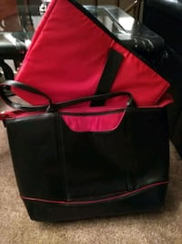 black and red lap top travel case Kelowna, V1Y 3E1