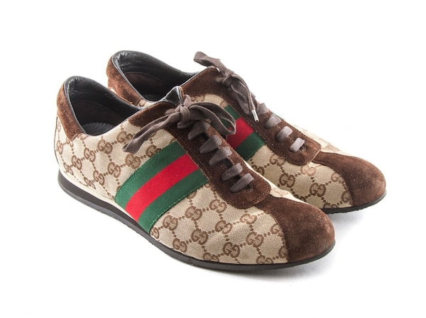 8deae2273 Used AUTHENTIC GUCCI MENS GG LOGO GUCCISSIMA 117711 SHOES for sale in Rancho  Cordova - letgo