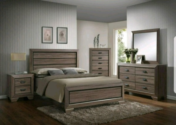 Beautiful bedroom set brand new in boxes
