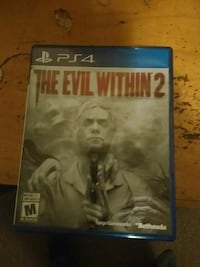 The evil within 2 for  the Ps4