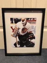 Kirk McLean signed and framed photo