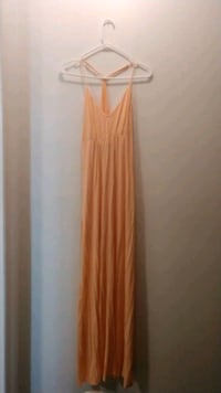 BCGeneration Peach Maxi Dress XS Never Worn Camp Springs