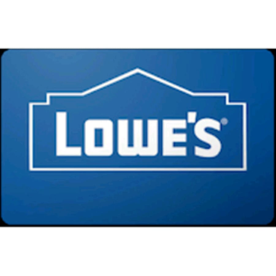 $750 lowes gift card store credit