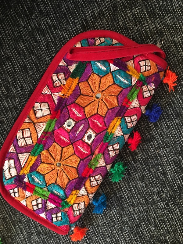Women's multicolored wallet