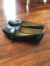 Geox Ladies Blue Leather size 6.5 Calgary, T2P