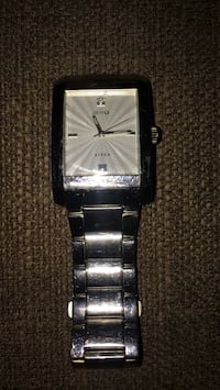 Stainless steel Geuss watch  Milton, L9T