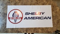 Shelby America Banner 2foot x 4foot $35