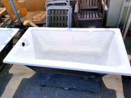 Last One!  Cast Iron Drop-in Tub