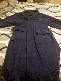 Men's Nautica Bathrobe, One size fits all, Blue Crestview, 32539