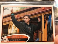 Buster posey topps variation rare