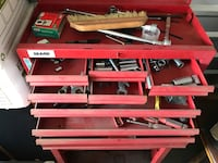 Red Metal 3-layer tool chest Dallas, 75240