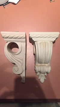 Set of wall CORNICES (holds valance) Hoffman Estates, 60169