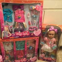 """Jojo Siwa 18"""" Doll As Big As American Girls and Accessories READ ENTIRE POST BEFORE CONTACTING. PRICE IS FIRM ON EACH Las Vegas, 89128"""