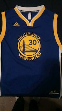 Stephen curry youth large jersey  Calgary, T3J 4L5