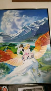 Narnian Fantasy..painting.. by Carol Keefer Police Monterey Park, 91755