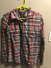 Multi-Coloured Plaid Longsleeve  Calgary, T3A 3T5