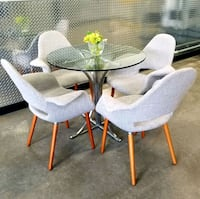 POLY and BARK table and 4 chairs ???? cheap deliver! Frisco, 75034