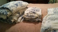 Full / queen French toile davet and shams