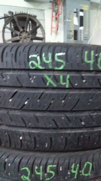 245/40R18 set of 4 Continental Calgary, T2K 5X2