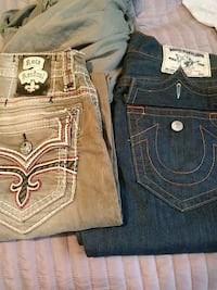 Rock revival and true religion jeans