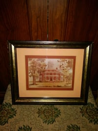 Mimi Loup Brown Longwood Plantation Signed Picture