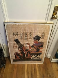 This poster they made art onions papers  just poster  not frame  New York, 11223