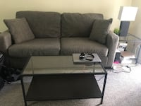 Couch with coffee table and side table - $350 SANFORD