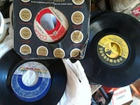 45 records. Jackson five Ray Charles eyc Evansville