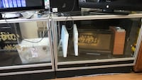 stainless steel framed glass display counter Toronto, M4C 1K3