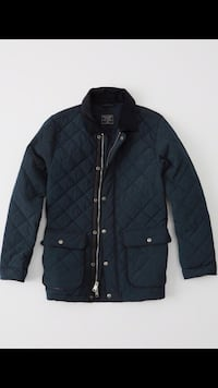 Abercrombie & fitch Men Diamond Quilted Jacket