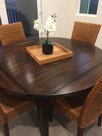 Small dining table.