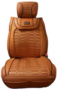 Seat covers combined leather and fabric  Toronto, M4A 2M1