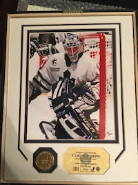 "Unframed Curtis Joseph pic limited edition 16""x12"" Ajax, L1S 5S3"