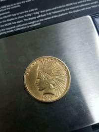1911 S $10 gold coin AU quality Whittier, 90602