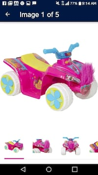 toddler's pink and purple ride on toy Austin, 78753