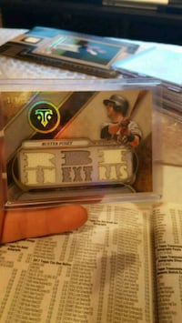 Triple threads buster Posey jersey cards  Jessup, 20794