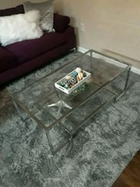 rectangular clear glass-top coffee table Balch Springs, 75180