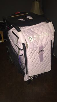 Lavender ZUCA figure-skating bag with a stain on top  Keswick, L4P 3K9