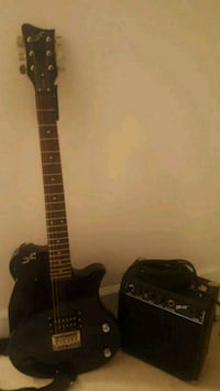 First Act guitar and amp 11 km
