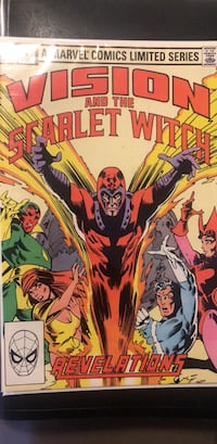 Vision and Scarlet Witch 4 comic book Toronto, M6M 5C4