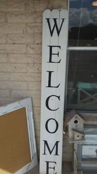 NEW Wood Very Tall Welcome Sign Prescott Valley, 86314