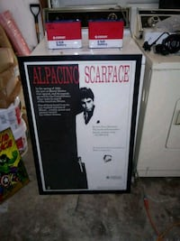 Scarface frame poster 20 years old  Fayetteville, 28314