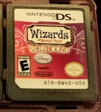Wizards of Waverly place spellbound ds game  Bozeman, 59715