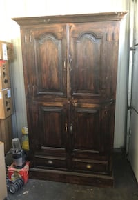 Armoire solid wood!!  Denver, 80209