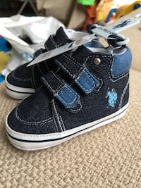 Brand new polo baby shoes size 4,9-12months Richmond, V6X 2H6