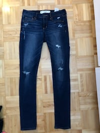 Abercrombie&Fitch super skinny jeans Ottawa, K4A 1Y9