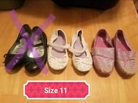Little girls shoes size 11 Copperas Cove, 76522