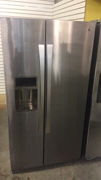 Kenmore ELITE Stainless Steel Side by Side Refrigerator brand new delivery available we offer financ Raleigh, 27606